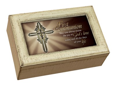 First Communion Music Box  -