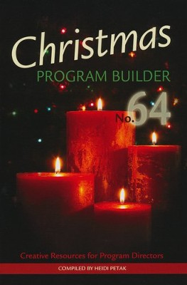 Christmas Program Builder No. 64, Book  -     By: Heidi Petak