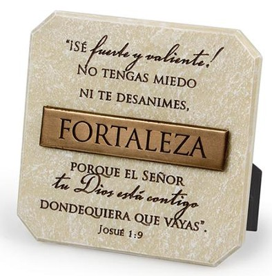Fortaleza, Placa  (Strength, Plaque)  -
