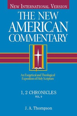 1,2 Chronicles: New American Commentary [NAC] -eBook  -     By: J.A. Thompson