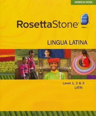Latin Level 1,2 & 3 Set with Audio Companion Homeschool Edition, Version 3  -