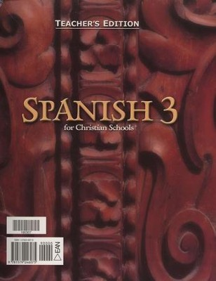 BJU Spanish 3, Teacher's Edition   -