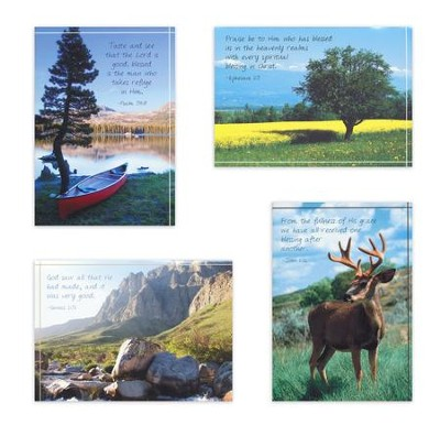 Mountain Scenic Birthday for Him Cards, Box of 12  -
