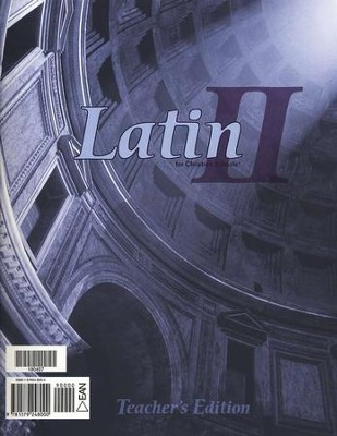 BJU Latin II, Teacher's Edition    -