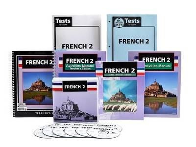 BJU French 2 Homeschool Kit    -     By: Bob Jones