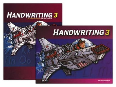 BJU Handwriting 3, Homeschool Kit    -     By: Bob Jones
