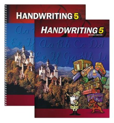 BJU Handwriting Grade 5, Homeschool Kit (Second Edition)    -     By: Bob Jones