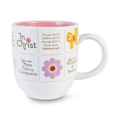 In Christ Butterfly Mug  -