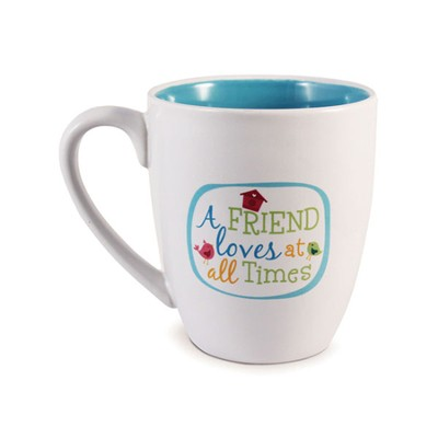A Friend Loves At All Times Mug  -