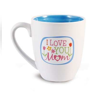 I Love You Mom Mug  -