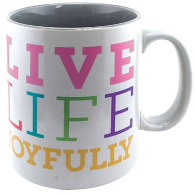 Live Life Joyfully Mug  -