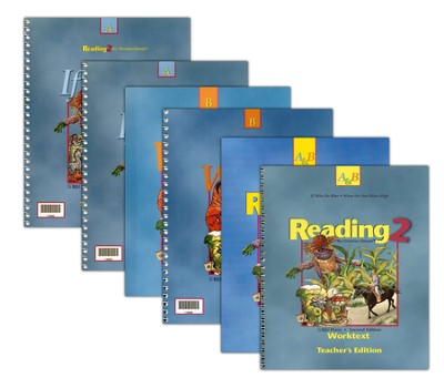 BJU Press Reading Grade 2 Homeschool Kit   -