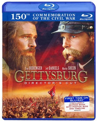 Gettysburg: Director's Cut, Blu-ray/DVD/Book Set   -