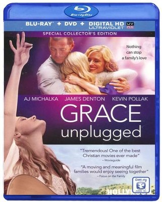 Grace Unplugged: Special Collector's Edition,  Blu-ray/DVD/HD Digital Copy  -