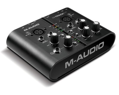 M-Track Plus-Audio and Midi Interface Bundled with Pro Tools Express  -