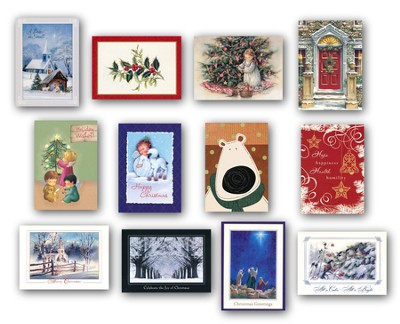 Christmas Cards, Box of 24  -