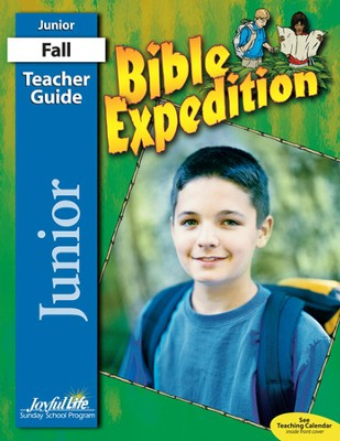 Bible Expedition Junior (Grades 5-6) Teacher Guide   -