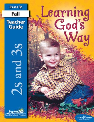 Learning God's Way (ages 2 & 3) Teacher's Guide   -