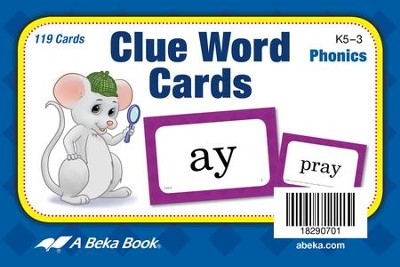 Clue Word Cards (K5; 119 cards)  -