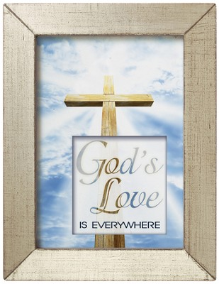 God's Love is Everywhere Framed Inspiration  -