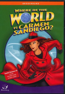 Where in the World Is Carmen Sandiego? CD-ROMs for Schools  -