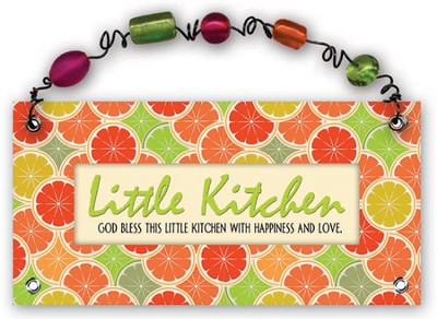 Little Kitchen Plaque  -