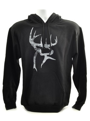 Buck Commander Hooded Sweatshirt, Black, Medium  -