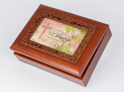 When I Count My Blessings, I Count You Music Box  -