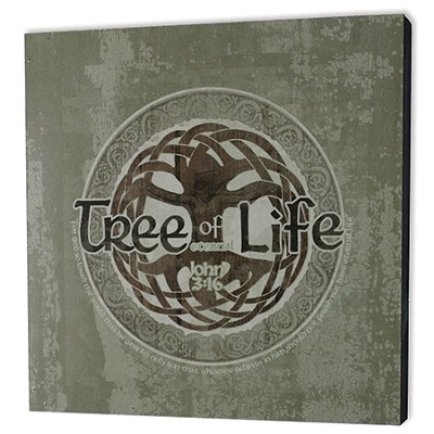 Tree Of Live Wood Box Print  -