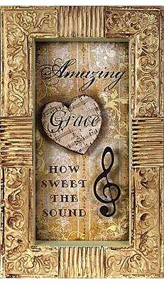 Amazing Grace How Sweet the Sound Plaque  -