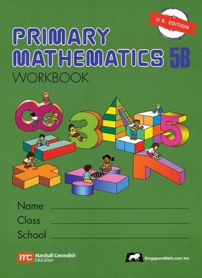 Singapore Math: Primary Math Workbook 5B US Edition   -