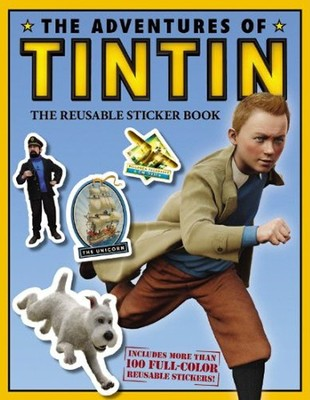 The Adventures of Tintin, Reusable Sticker Book,  Movie Tie-In                      -     By: Herge