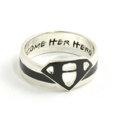 Become Her Hero Ring, Size 9  -
