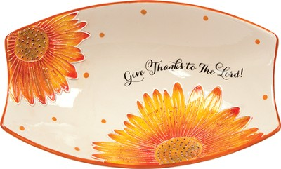 Give Thanks! Serving Plate  -