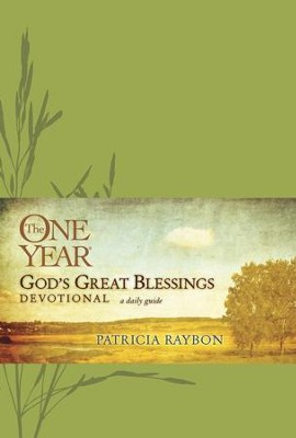 The One Year God's Great Blessings Devotional - eBook  -     By: Patricia Raybon