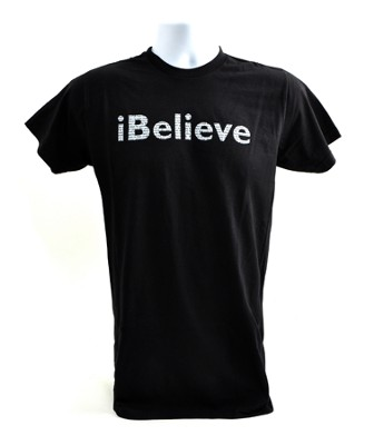 iBelieve, Josh Hamilton Shirt, Black, Large  -