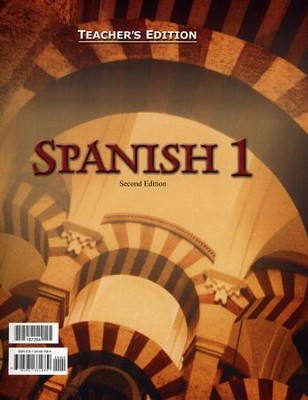 BJU Spanish 1 Teacher's Edition (Second Edition)    -