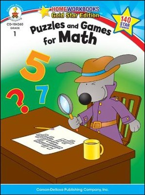 Puzzles and Games for Math Grade 1  -