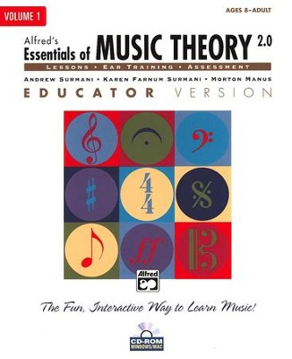Essentials of Music Theory, Volume 1, Educator Version 2 CD-ROM   -