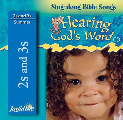 Hearing God's Word (ages 2 & 3) Audio CD   -