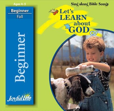 Let's Learn About God Beginner (ages 4 & 5) Audio CD   -