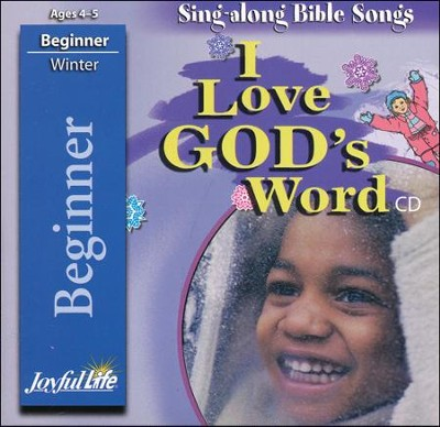 I Love God's Word Beginner (ages 4 & 5) Audio CD   -