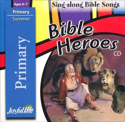Bible Heroes Primary (Grades 1-2) Audio CD   -