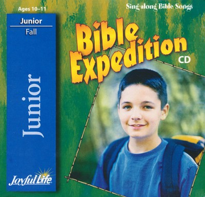 Bible Expedition Junior (Grades 5-6) Audio CD   -