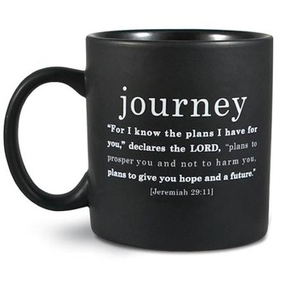 Journey Basic Faith Ceramic Mug  -