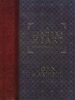 A Leader's Heart: 365-Day Devotional Journal   -     By: John C. Maxwell