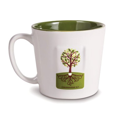 Ceramic Mug - Tree - Let Your Roots Grow  -