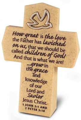 How Great is the Love Cross with Dove  -