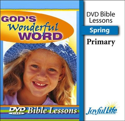 God's Wonderful Word Primary (grades 1-2) Bible Lesson DVD (Spring Quarter)  -