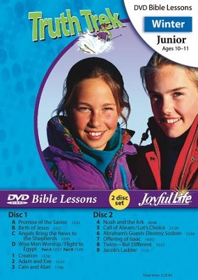 Truth Trek Junior (Grades 5-6) Bible Lesson DVD   -
